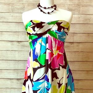 Gorgeous colorful dress